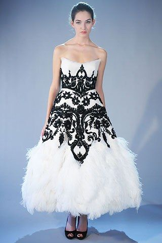 Marchesa Fall 2008 Ready to Wear Collection Photos   Vogue