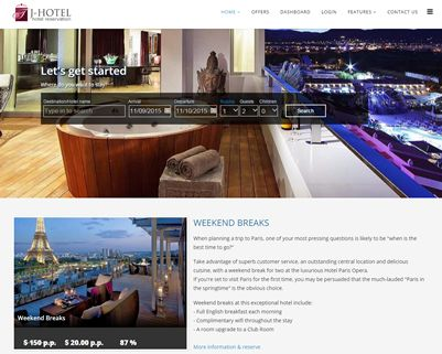 J-MyHotel Joomla template for directory - CMS Junkie