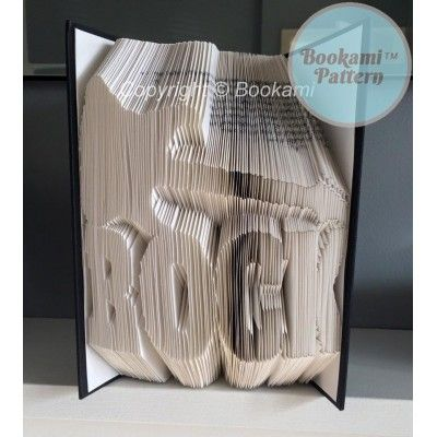Rock Guitar Book Folding Pattern - 543 Pages/272 Folds