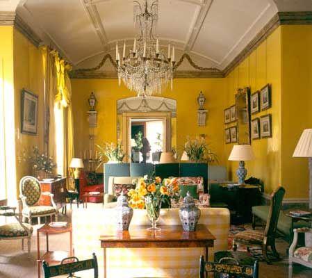 English Country Style U2013 Understated Georgian Grace · Yellow InteriorYellow  RoomsYellow ...