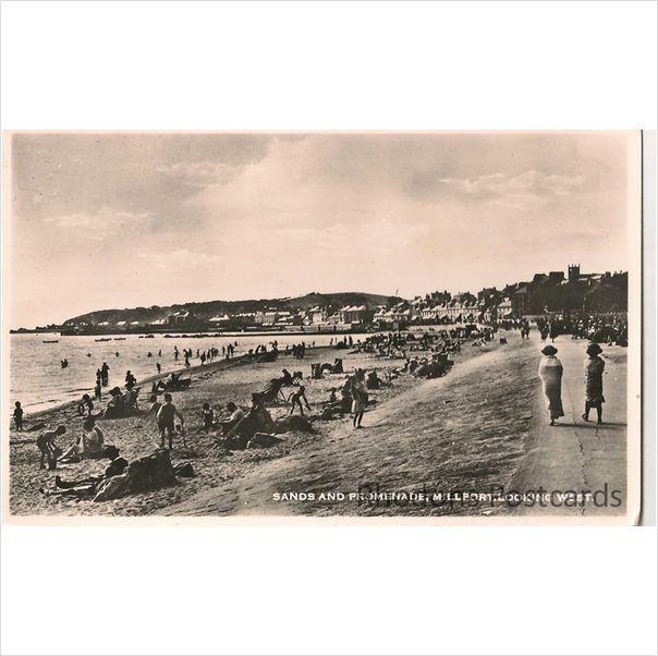 Vintage Postcard - Scotland - Millport Sands & Promenade -1940's RP on eBid United Kingdom