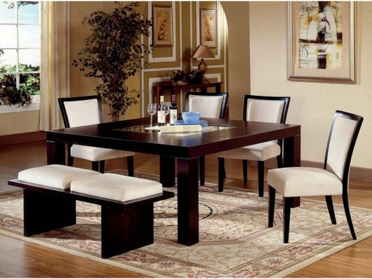 Steve Silver Movado Square Casual Dining Table In Merlot Finish. Want A  Square Table Soooo Bad