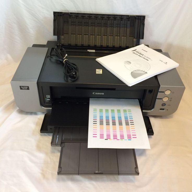 Canon PIXMA Pro 9000 MARK II Digital Photo Inkjet Printer TESTED (SEE VIDEO) #Canon