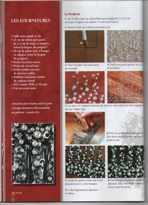 Methode du crochet de Luneville - Les perles de Nanou