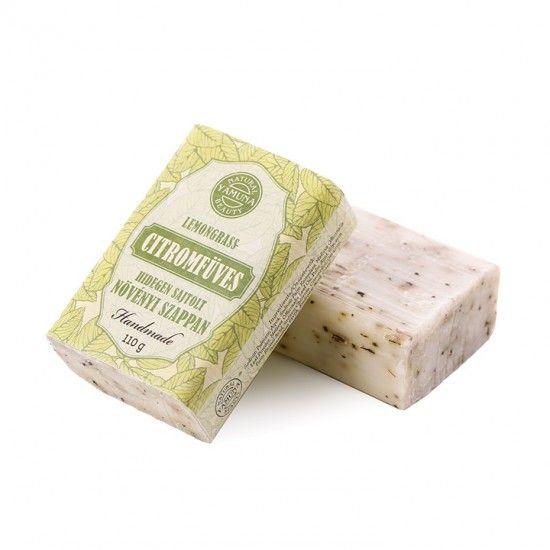 Citromfüves hidegen sajtolt szappan
