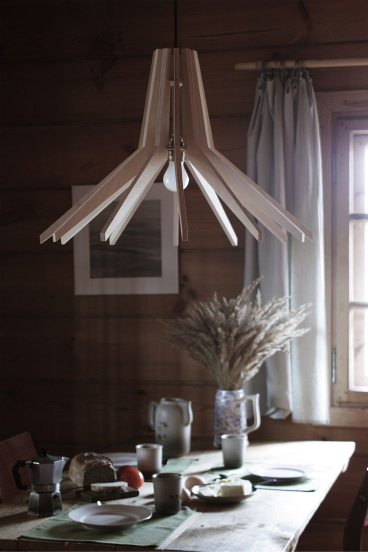 COPO lamp in country house. It make me feel extremely homely here... made by SEAN
