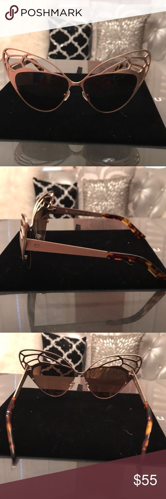 House of Harlow 1960 butterfly sunglasses Brand new. Perfect condition. House of Harlow 1960 Accessories Glasses