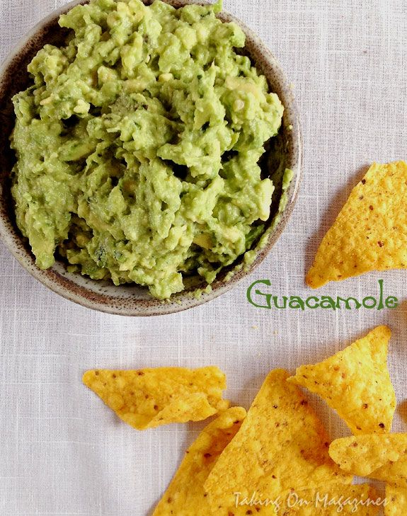 Classic Guacamole from Fine Cooking Magazine, February/March 2014 | R ...