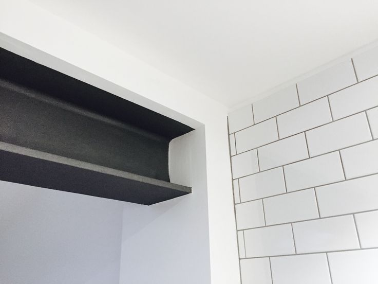 Exposed Rsj Steel Beam In White Kitchen Steel Beams