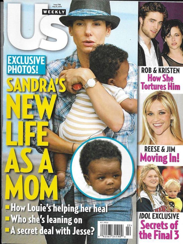 US Weekly magazine Sandra Bullock Kristen Stewart Robert Pattinson American Idol