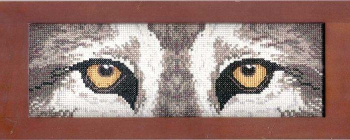 Глаза волка-вышивка. Обсуждение на LiveInternet - Российский Сервис Онлайн-Дневников