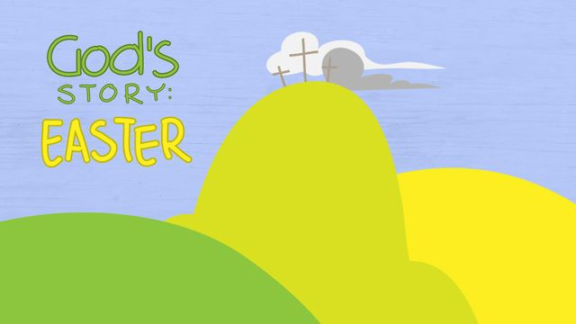 """""""God's Story: Easter"""" another powerful animation telling the story of God's love."""