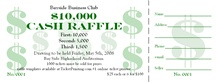Raffle Ticket Printing – Custom Raffle Tickets Ship Next Day