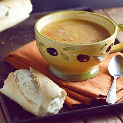 Incredibly simple yet hearty, low fat, low calorie, vegan soup....what's not to love?