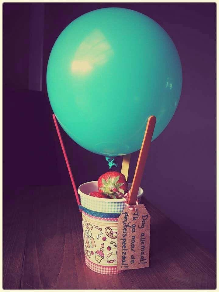 Afscheid luchtballon