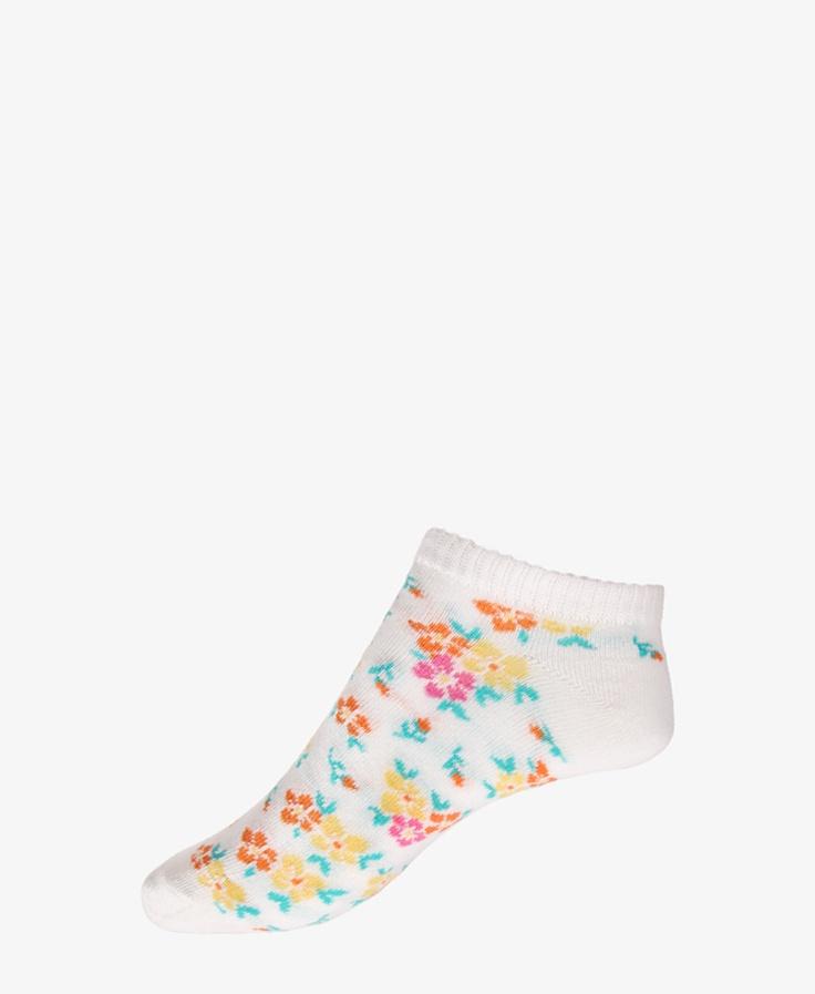 Floral Ankle Socks   FOREVER21 - 2015036924