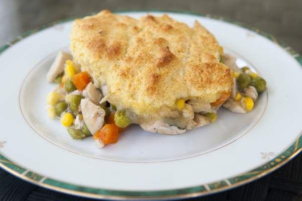 pot pie chicken potato and summer vegetable pot pie summer chicken pot ...