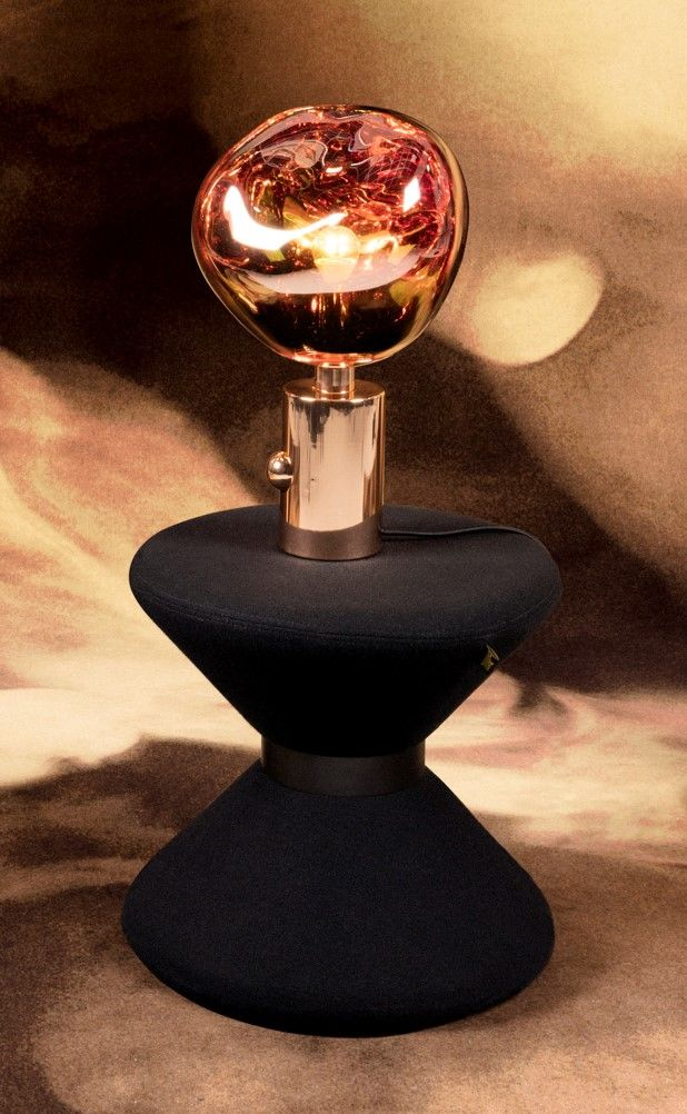 Melt Table Light By Tom Dixon Rose Gold Luxury Interior Design Light Table Tom Dixon Copper Accessories