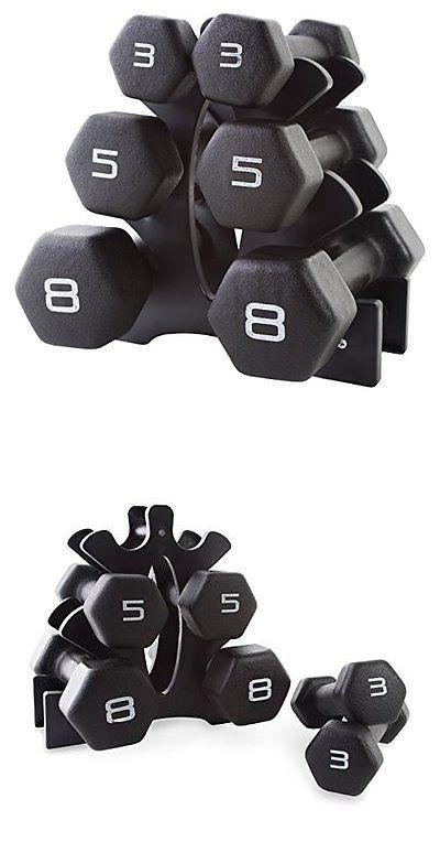 Dumbbells 137865: Cap Barbell Neoprene Dumbbell Set With Rack -> BUY IT NOW ONLY: $48.24 on eBay!