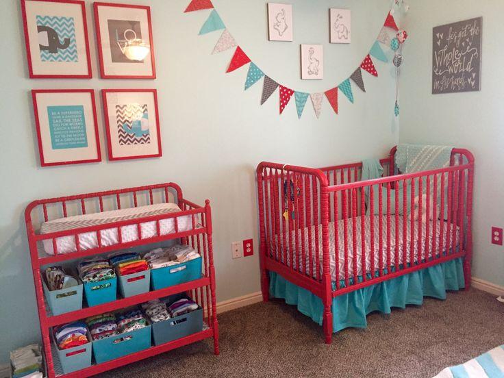 Best 25 Red Crib Ideas On Pinterest Nautical Theme