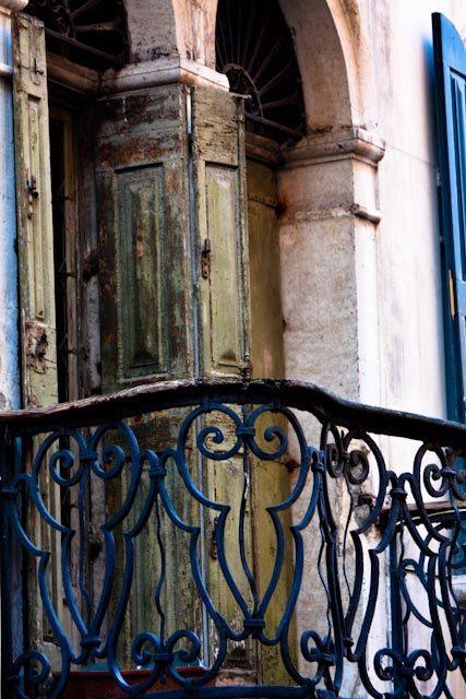 Romantic Balcony in Venice, Italy Photography, Venice,  Aged Green Balcony in Venice, Italy, Bedroom Art, Italian Decor - Romance