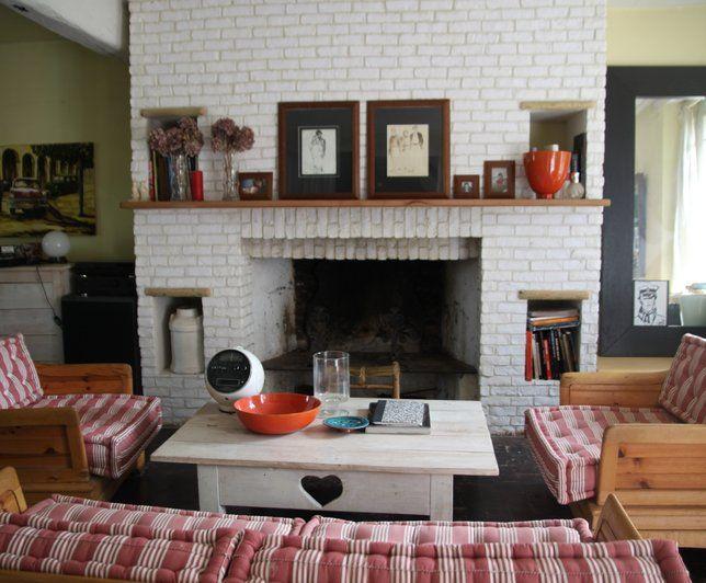 pingl par mathilde hallez sur d co pinterest salon campagne maisons de campagne et campagne. Black Bedroom Furniture Sets. Home Design Ideas