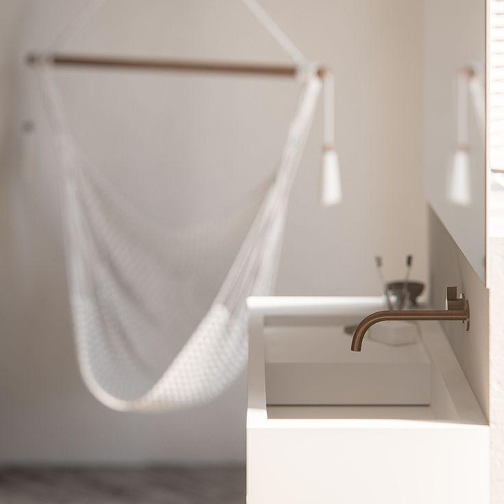 17 beste idee n over koperen badkamer op pinterest kranen beton badkamer en betonnen douche - Badkamer cocooning ...
