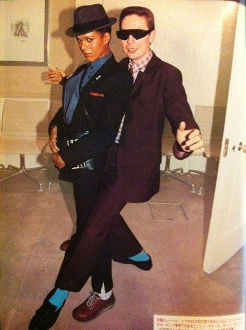Pauline Black from the Selecter and Jerry Dammers of the Specials - 1979