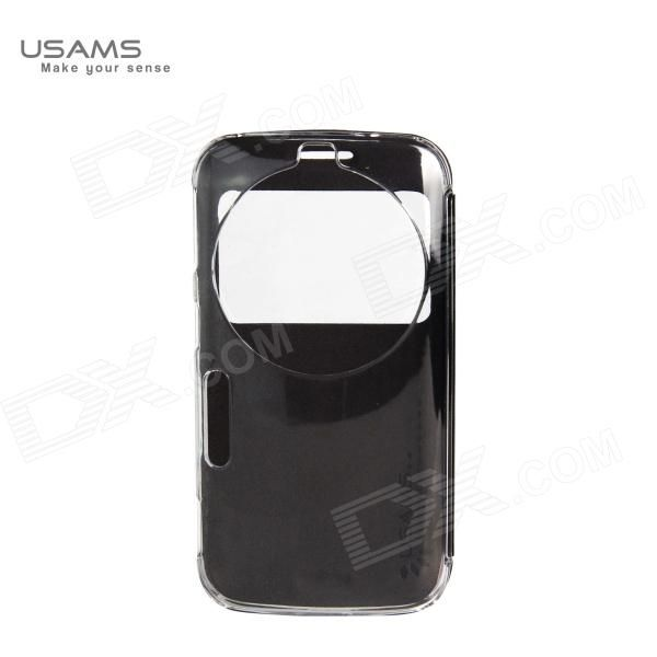 Color: Black; Brand: SAMS; Model: C1158MR01; Material: PU + PC; Quantity: 1 Piece; Shade Of Color: Black; Compatible Models: C1158; Packing List: 1 x Protective case; http://j.mp/1v2yDqd