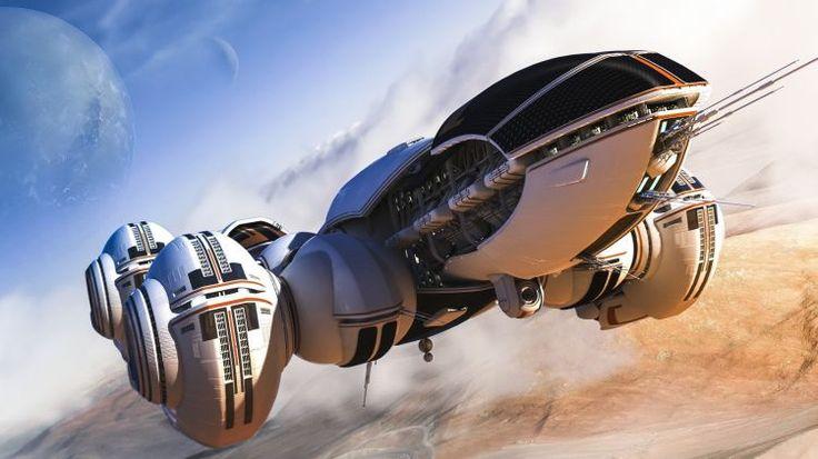 Fonds d'écran Fantasy et Science Fiction Vaisseaux spatiaux Wallpaper N°385007