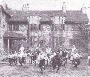The Basque Refugee Children at the Old Clergy House, Almondbury.