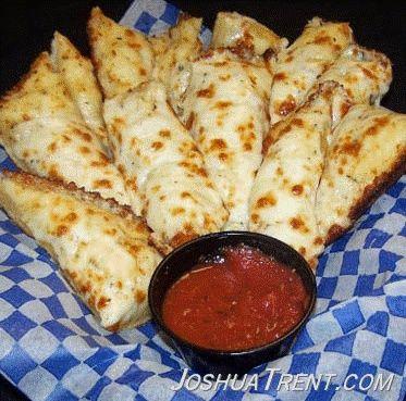 copycat Pizza Hut cheese bread..Mmmm