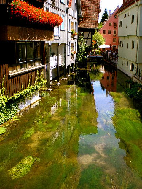 visitheworld: Fishermen's quarter in Ulm, Germany (by gritdax).