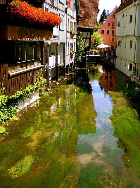 visitheworld: Fishermen's quarter in Ulm,... My home town!