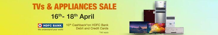 Amazon 16-18 April Home Appliance Sale Offer : Amazon 16-18 April Weekend Sale