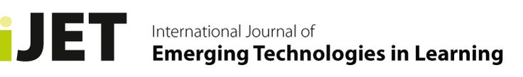 International Journal of Emerging Technologies in Learning (iJET). This interdisciplinary journal aims to focus on the exchange of relevant trends,  research results, & the presentation of practical experiences gained while developing & testing elements of technology enhanced learning. It aims to bridge the gap between pure academic research journals and more practical publications. So it covers the full range from research, application development to experience reports & product…