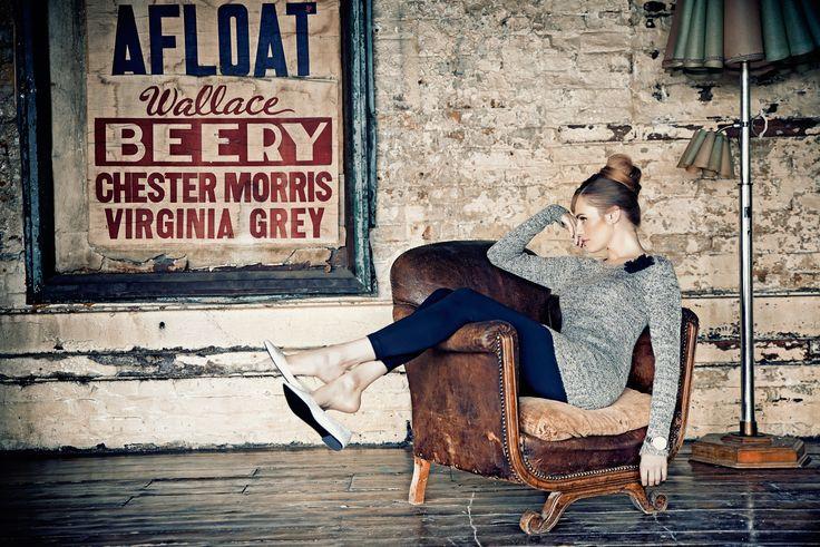 Sesja kolekcji QUIOSQUE na sezon jesień-zima 2014/2015 #QSQ #photography #photo #retro #vintage #england #greatbritain #fashion #inspiration #autumn #fall #look #outfit #women #beauty #style #casual #elegance #retro #vintage #oldschool