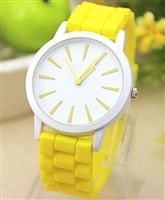 Gel watch in yellow from lovemisseve.com