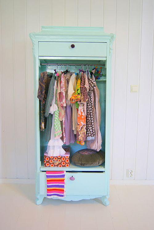 Bright Pastel Little Girls Room in Norwegian Style from Theas Mania - Heart Handmade uk