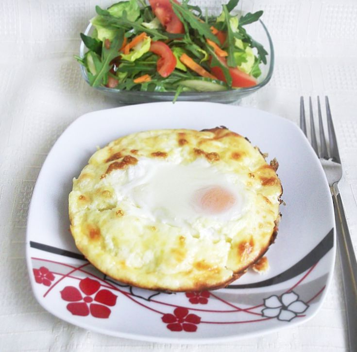 Mic dejun delicios si sanatos - Oua gratinate