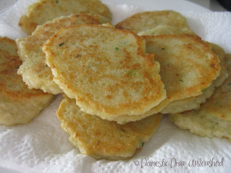 Potato and Leek Pancakes — Domestic Diva Unleashed