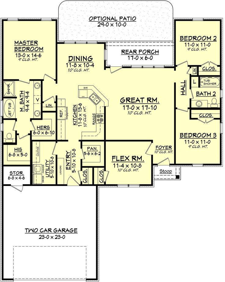 1000 images about a possible floor plan 1600 1900 square for 1900 sq ft