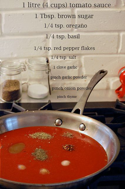 Homemade Pizza Sauce by The Art of Doing Stuff
