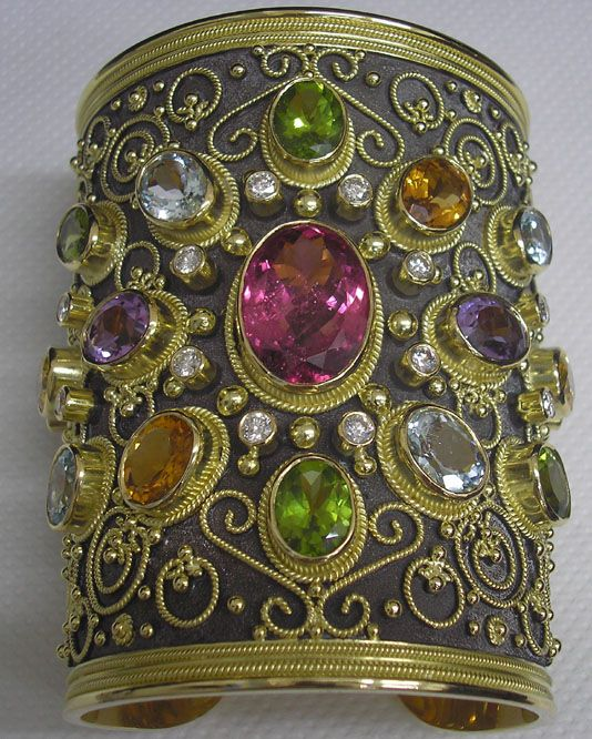 Byzantine Jewelry,greek jewelry,ancient-greek jewelry // With stones to die for, so beautiful they came to us today this way ~R