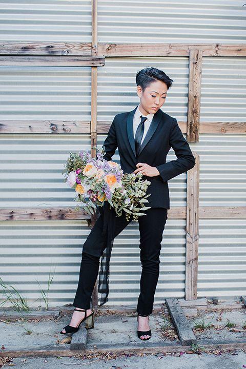 38 best Women\'s Tuxedo images on Pinterest | Black suits, Black tux ...