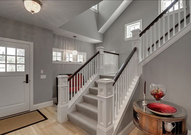 Benjamin Moore Paint Color. Stonington Gray HC-170 by Benjamin Moore. #StoningtonGray HC-170 #BenjaminMoore