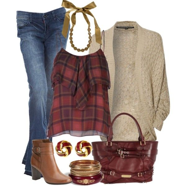 Outfit: Danyellefl01, Untitled 260, Outfit Fall, Fall Colors, Fall Outfits, Jeans Outfit, Fall Winte Fashion, Fallwinter Fashion, Dreams Closets
