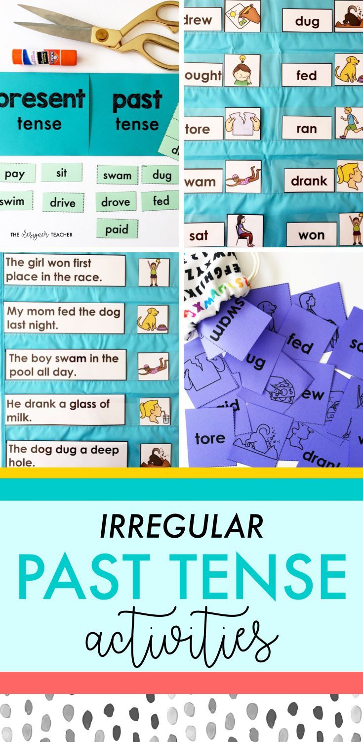 Get everything you need to teach students how to read and spell irregular past tense verbs with this comprehensive mini unit. Includes phonics lesson plans, posters, foldables, games, independent work, and more.