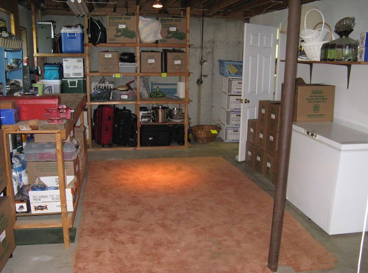 1000+ Ideas About Organized Basement On Pinterest