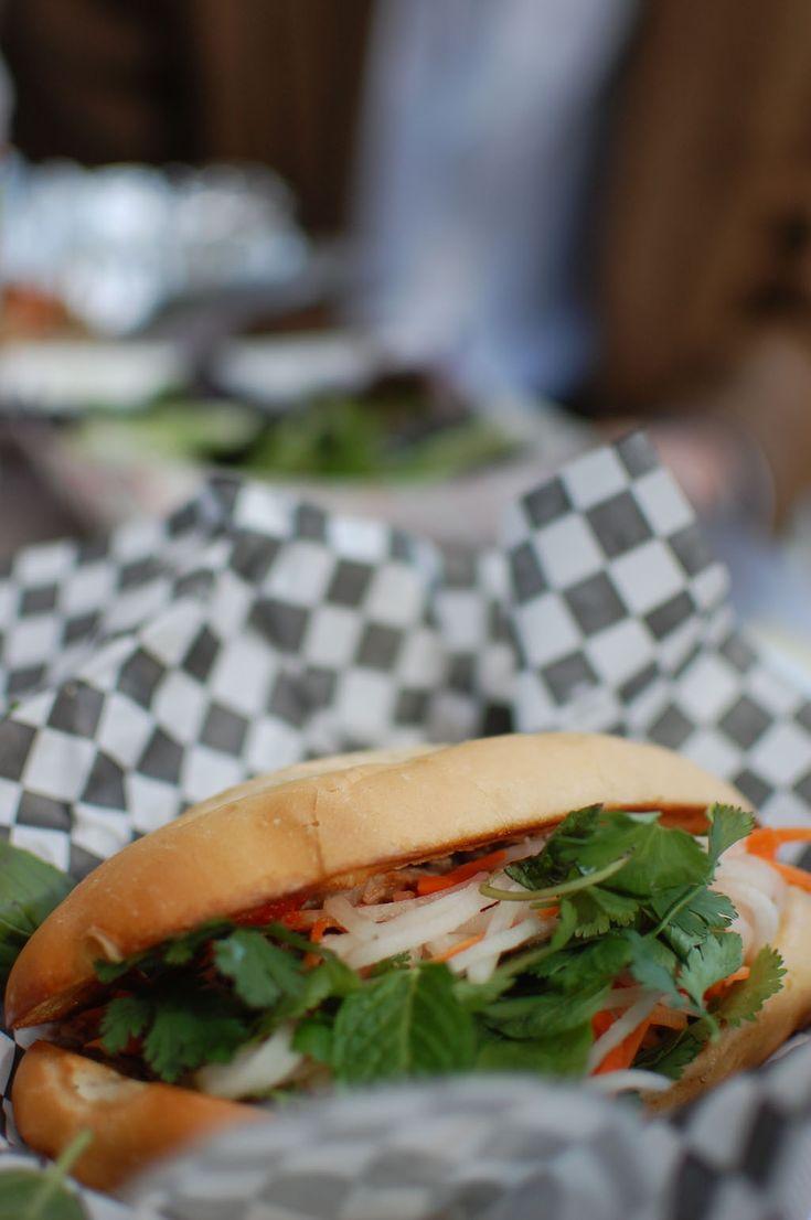 san antonio food truck: DUK Truck Bahn Mi sandwich